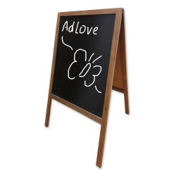 Wooden Chalk Board A-Stand 53x66cm