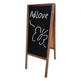 Wooden Chalk Board A-Stand 80x40cm