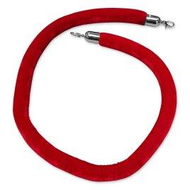 Lina czerwona 150cm do słupka srebrnego