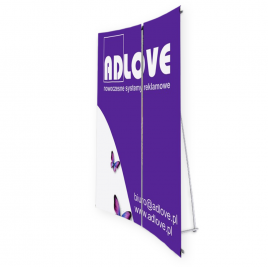 L-banner Plus Advertising Wall 160x202cm