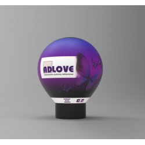 Balon reklamowy B12  4m pełny zadruk