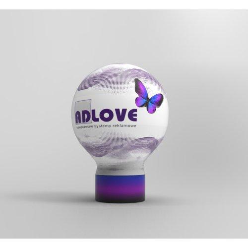 Balon reklamowy B16  4m pełny zadruk