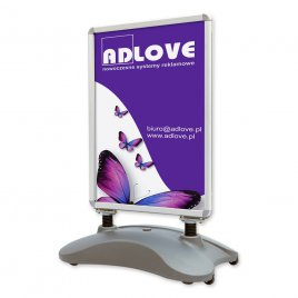Outdoor WATER B1 Poster stand