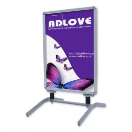 Outdoor HEAVY A1 Poster stand
