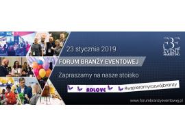 Zapraszamy na Forum Branży Eventowej 2019
