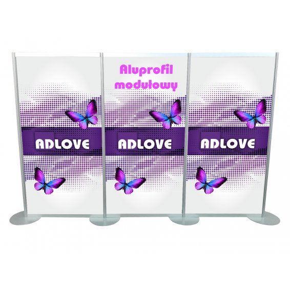 ALUPROFIL - MODULAR Exhibition Wall title=