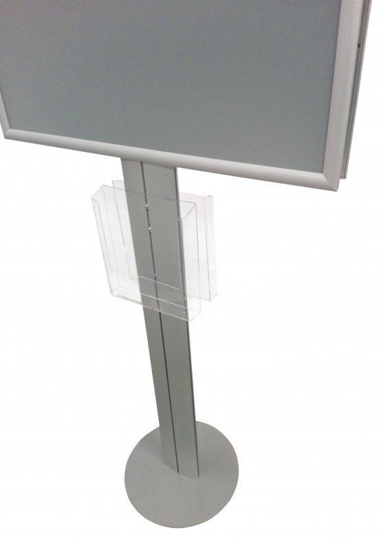 Double Snap Frame Poster Stand A1 With A4 Brochure Holder